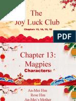 joyluck club chapter 13,14,15,16 summary