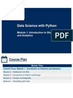 SCS3250A_Module 1  -  Introduction to Statistics and Analytics