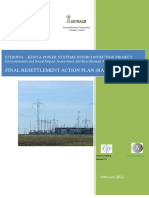 Ethio-Kenya Power System ESIA FINAL RESETTLEMENT ACTION PLAN (RAP) REPORT