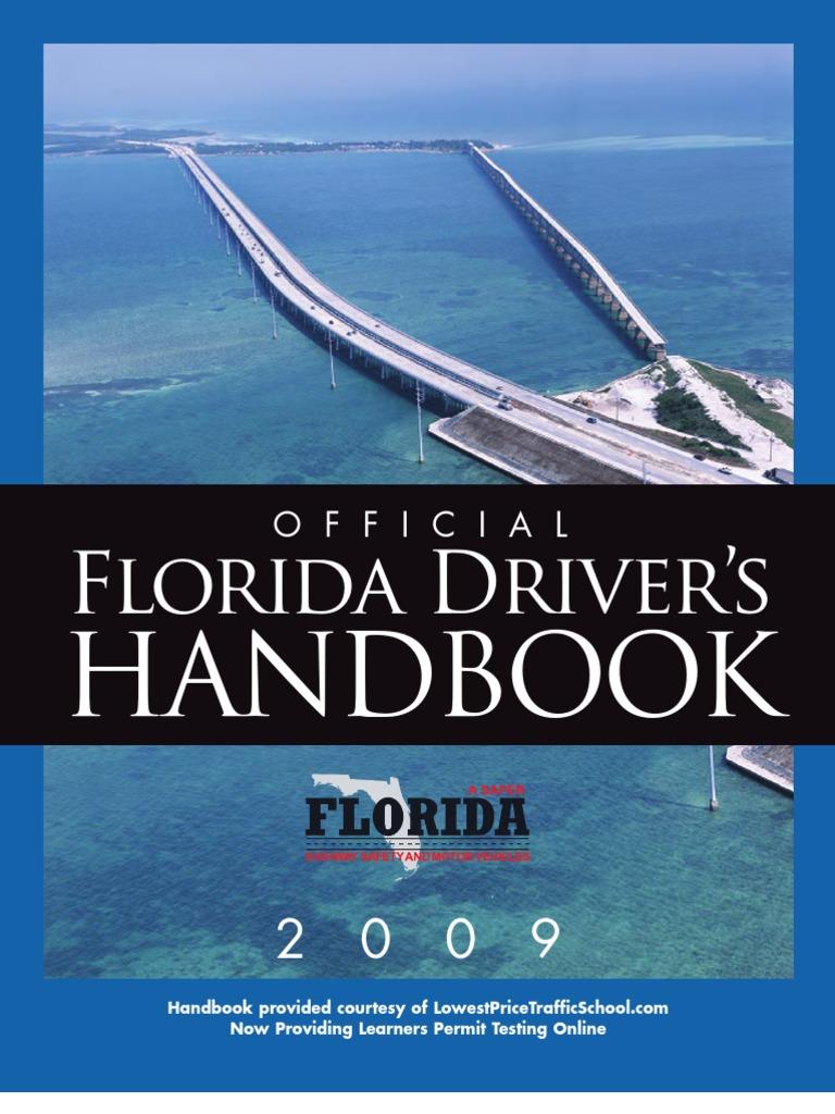Florida Drivers Handbook >> Florida S Driver Handbook 2009 Identity Document