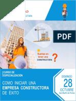 Brochure CURSO OCTUBRE