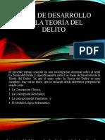 FASES DE DESARROLLO DE LA TEORÍA DEL DELITO Expo. (1)