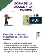 TEORIA DE LA ACCION Y LA OMISION