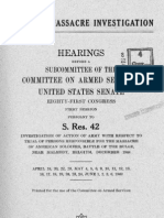 Malmedy Hearings US Senate - Volume I 1949