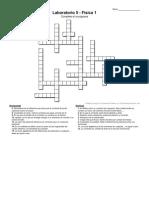 Lab 5 fisica 1 crossword