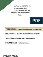 MANUAL SOLICITUD DE APROBACION DE REANUDACION DE PROYECTOS