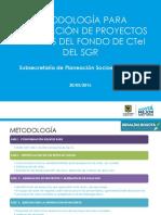 1. Presentación convocatoria de proyectos CTeI