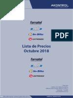 Listas de Precios AK 2019 ENERO