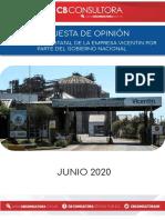 Encuensta Nacional Vicentin (Junio)