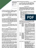 Resolucion 086 MPP Educación. Reprogramación de las actividades escolares 2010 2011