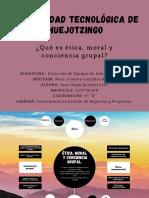 Ética,Moral y Conciencia Grupal - Diego Quechol