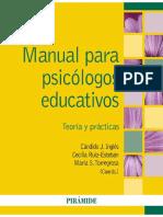 Manual para psicólogos educativos - Candido J. Inglés Saura.pdf · versión 1