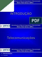 Apresentação - UNIFACS_Módulo de Redes Ópticas e GMPLS