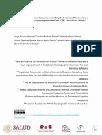 Manual operativo del Curso Emergente para la Brigada de Atención Psicoemocional - Mexico
