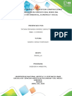 ACTIVIDAD 4 – IDENTIFICAR CONSTRUCCIONES SOSTENIBLES EN UN CONTEXTO REAL DESDE UNA PERSPECTIVA AMBIENTAL, ECONÓMICA Y SOCIAL
