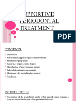 5. Supportive periodontal treatment