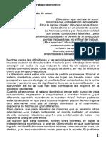 Teorizar y Politizar el Trabajo Domestico - Silvia Federici