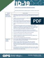 Recomendaciones gestión de residuos solidos- ops