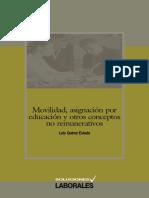 MOVILIDAD ASIGNACION POR EDUCACION Y OTROS CONCEPTOS NO REMUNERATIVOS