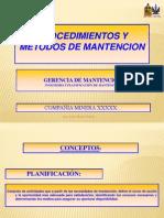 PROCEDIMIENTOS PLANIFICACION - JCPP