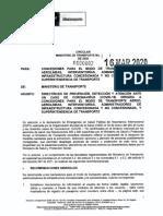 CIRCULAR 002 - 16 DE MARZO DE 2020 - MINTRANSPORTE.pdf
