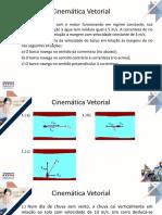 Exercícios de Cinemática Vetorial _aula 2