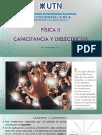 03-Capacitancia y Dielectricos-FisicaII-2009