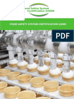 FOOD SAFETY SYSTEM CERTIFICATIION 22000
