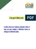 Analyse des structure-Calcul de BA