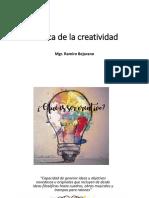 Acerca de la creatividad