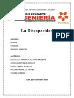 PENSTAR-La Discapacidad-Oratoria