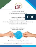 TEA formacion, conocimientos y concepciones docentes
