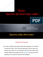 Spectru de frecvente radio