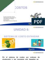6. Sistema de Costos Estandar