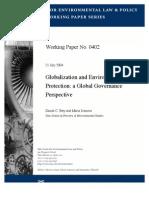 Globalization and Environmental