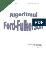 Algoritmul Ford Fulkerson