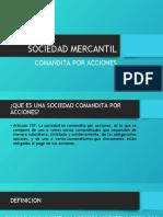 SOCIEDAD MERCANTIL, comandita por acciones (1)