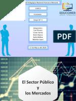 4. El sector Publico y los Mercados