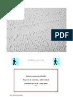 Manual de Braille Cerrato, E y Mejía, K. (2020). Educación Especial