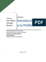Introducción a la Política 2015-2