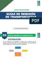 GUÍAS DE REMISIÓN DE TRANSPORTISTAS