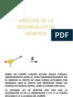 SEGUNDA LEY DE NEWTON Y SRI