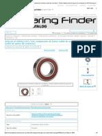 Artículo # 6209LLUC3 _ EM, rodamiento de bolas radial de una hilera - Doble sellado (sello de goma de contacto) en NTN Bearing Corp. of America