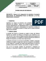 INFORME ANALISIS DE RIESGOS