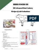 fod3080 recipes labs notes evals