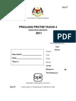 Kulit Praujian PROTIM 2011Tah 4