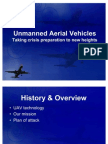 UAV Mock Case Study