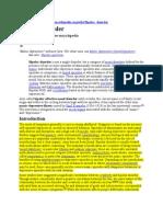 Bipolar Disorder Information