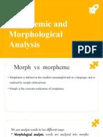 3 4 Morphemic & Morphological Analysis.pptx