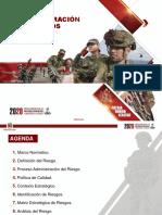 PRESENTACION ADMINISTRACION DE RIESGOS 2020 METODOLOGIA